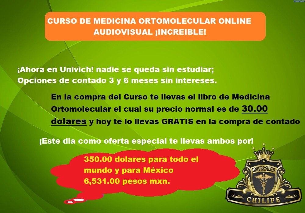 flayer medicina ortomolecular