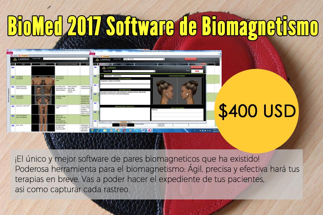 BioMed 2017 Software de Biomagnetismo